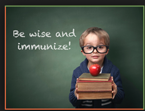 Put back-to-school immunizations on your to-do list!