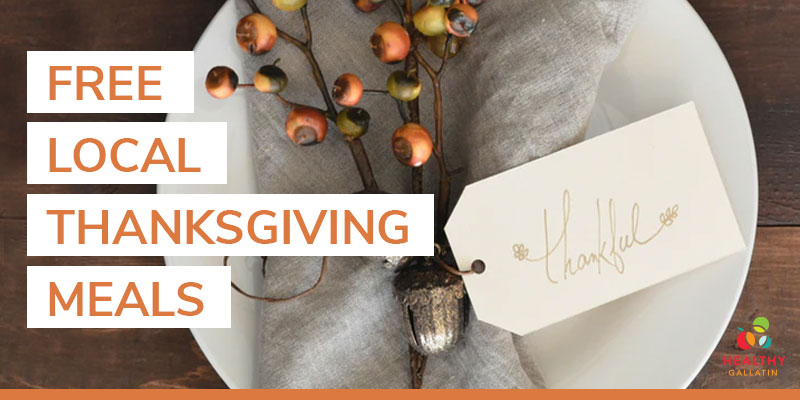 free local Thanksgiving meals across Gallatin County
