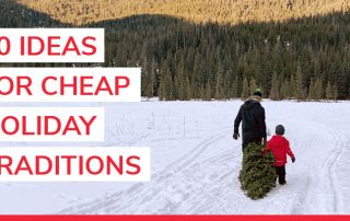 20 cheap holiday traditions