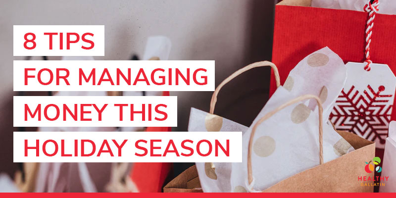 tips for managing money this holiday season