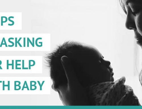 7 tips on asking for help with your new baby