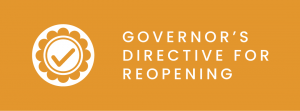 governors directive for reopening