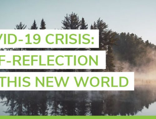 The COVID-19 crisis and self-reflection on this new world
